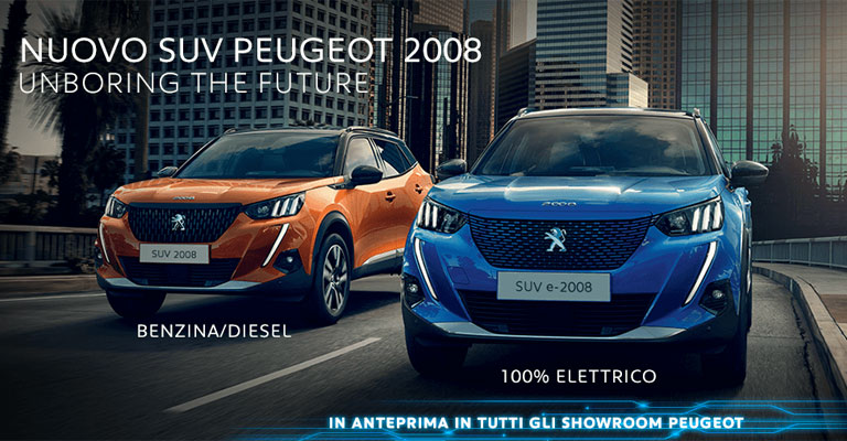 Nuova Peugeot 2008 Unboring The Future