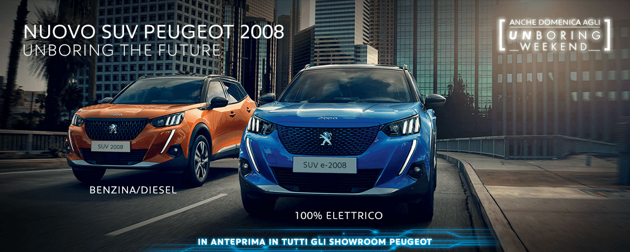 Nuova Peugeot 2008 Torino