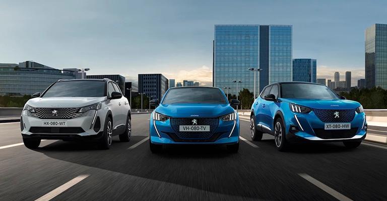 Gamma Peugeot elettrica e ibrida Torino