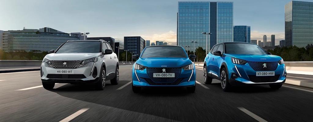 Gamma elettrica e ibrida Peugeot Torino
