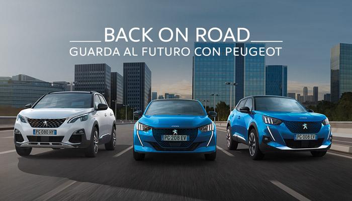 Peugeot Back on Road scarica subito il Voucher dal valore di <b>800€</b>